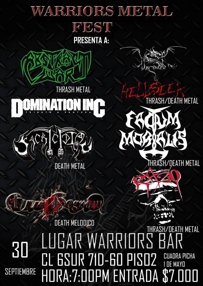 Warriors Metal Fest